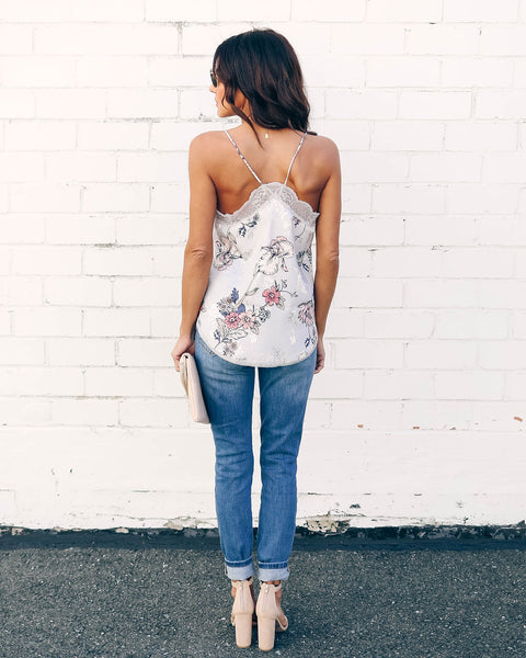 Freshly Picked Lace Cami Tank