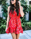 Love Always Floral Romper - FINAL SALE