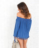 Hutton Tassel Top - FINAL SALE