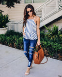Everything Bows Striped Tank
