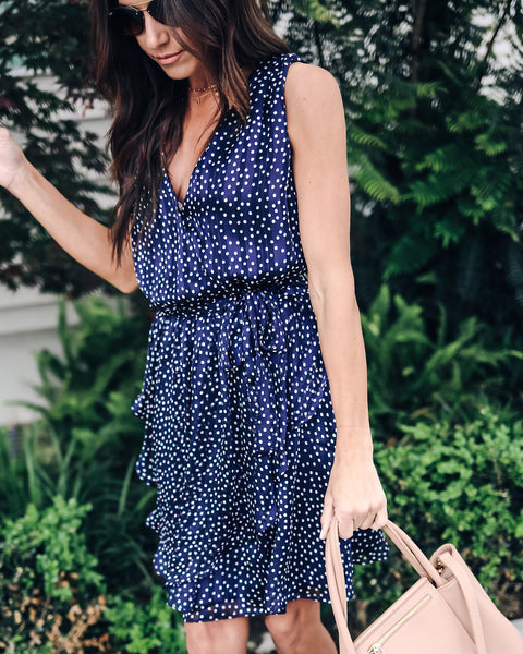 Sunday Stroll Polka Dot Dress - FINAL SALE