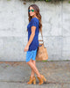 Deep Water Tie Dye Dress