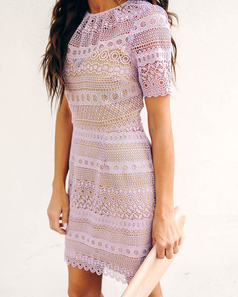 Cadbury Crochet Lace Dress - FINAL SALE