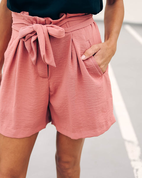 Rosantica Pocketed Tie Shorts - FINAL SALE