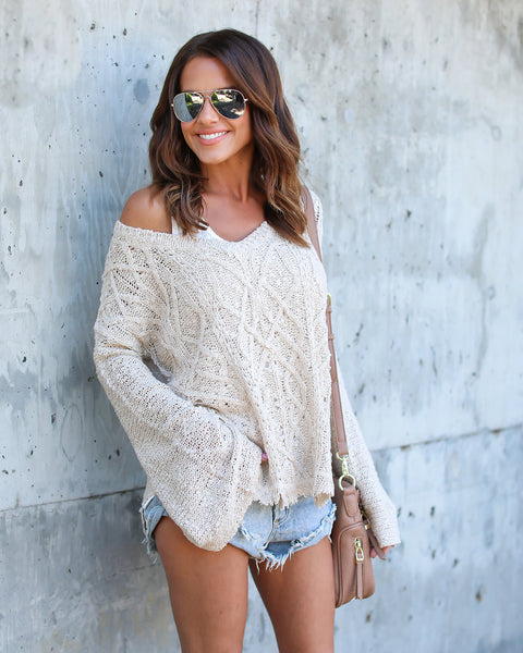 Eddie Distressed Sweater