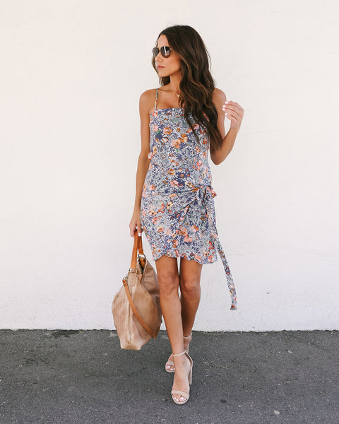 Fresh As A Daisy Wrap Dress