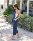Go For It Cotton Pocketed Jumpsuit - FINAL SALE