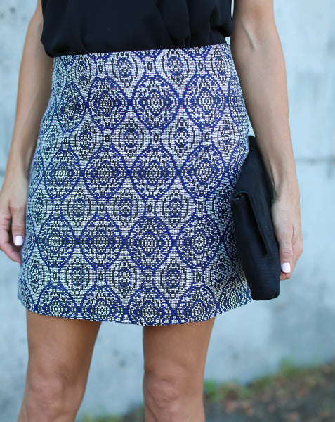 Georgina Embroidered Skirt - FINAL SALE
