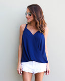 Beso Top - Navy