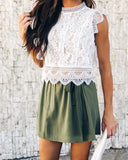 Hungry Eyes Lace Top