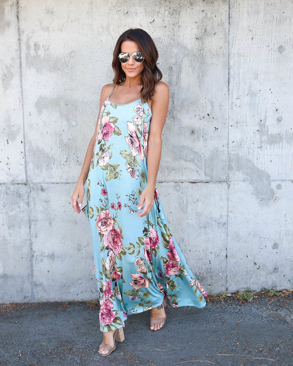 Jacqueline Floral Pocketed Dress - FINAL SALE