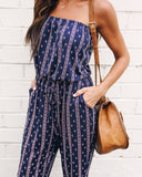 Between Us Pocketed Strapless Jumpsuit - FINAL SALE