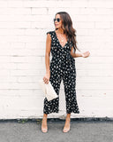 August Floral Pocketed Jumpsuit - FINAL SALE