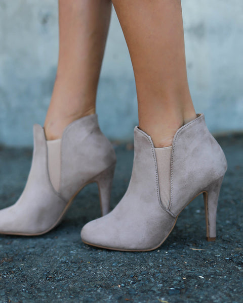 Kendall Faux Suede Bootie