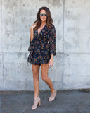 Wild As The Wind Romper - FINAL SALE