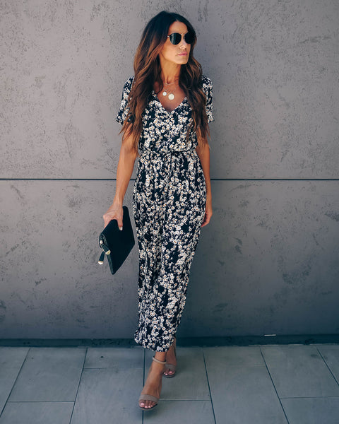 59750e8f6 Oopsy Daisy Button Down Tie Jumpsuit