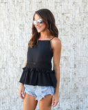 Prema Ruffle Tank - FLASH SALE