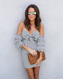 Elsa Striped Dress