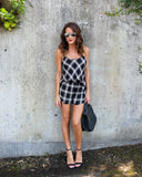Westwood Plaid Set - Ivory/Black - FINAL SALE