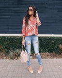 Leaf In The Wind Damsel Blouse - FINAL SALE