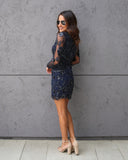 City Lights Sequin Dress