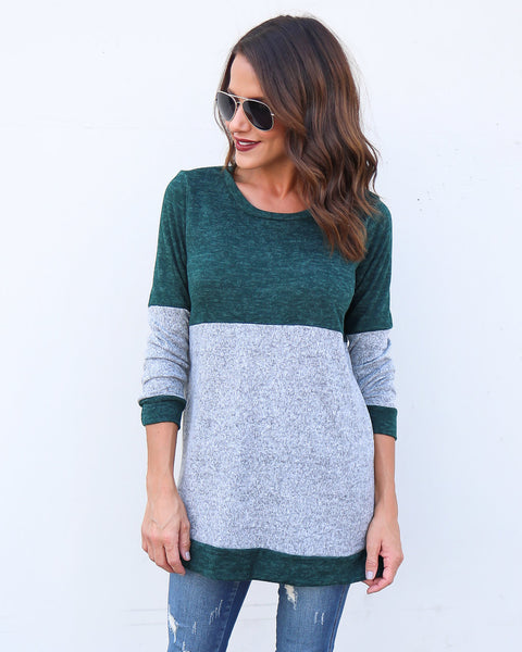 Go Green Knit Sweater