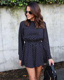 Hips Don't Lie Polka Dot Romper
