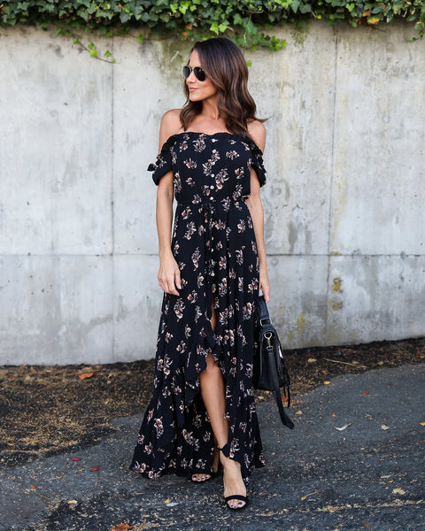 Artista High Low Maxi Dress