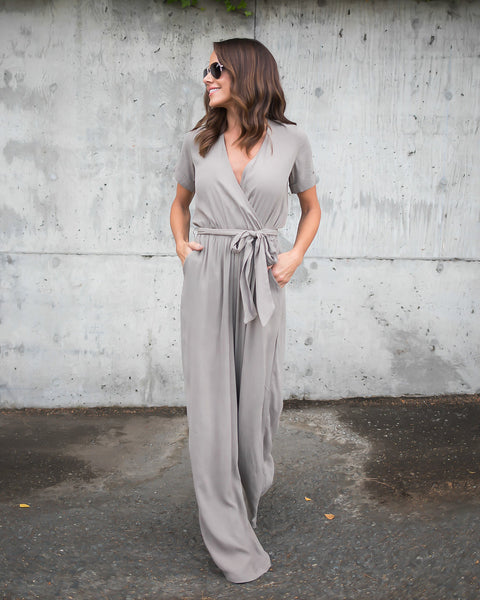 New Views Pocketed Jumpsuit