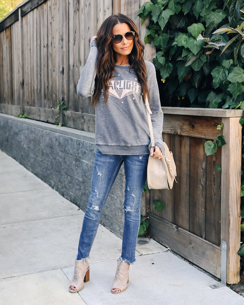 Starlight Mineral Washed Sweatshirt