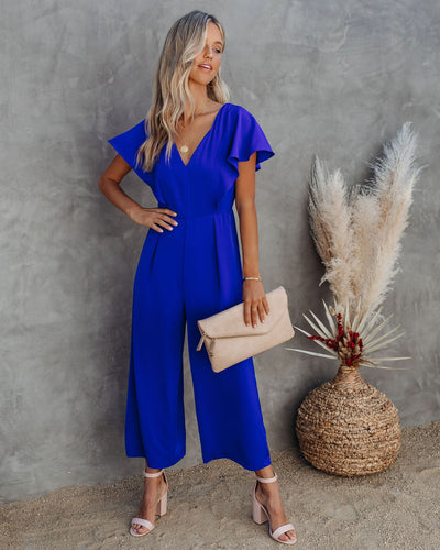 Treat You Better Wide Leg Jumpsuit