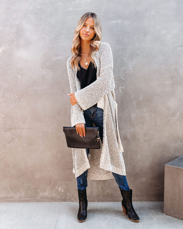 Tribeca Cotton Blend Duster Cardigan