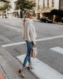 Editor's Pick Cable Knit Sweater - Cream