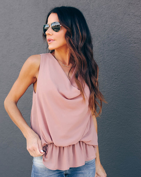 I Like It, I Love It Tank - Dusty Taupe - FINAL SALE