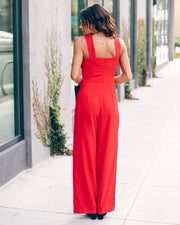 Love You Today, Tomorrow, Forever Pocketed Jumpsuit - FINAL SALE view 10