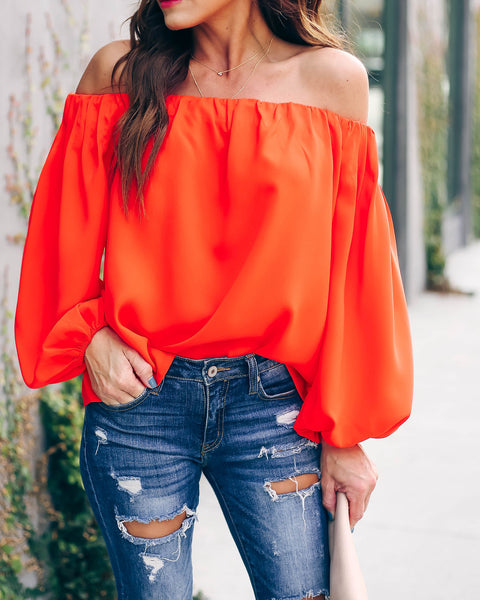 Braveheart Off The Shoulder Blouse