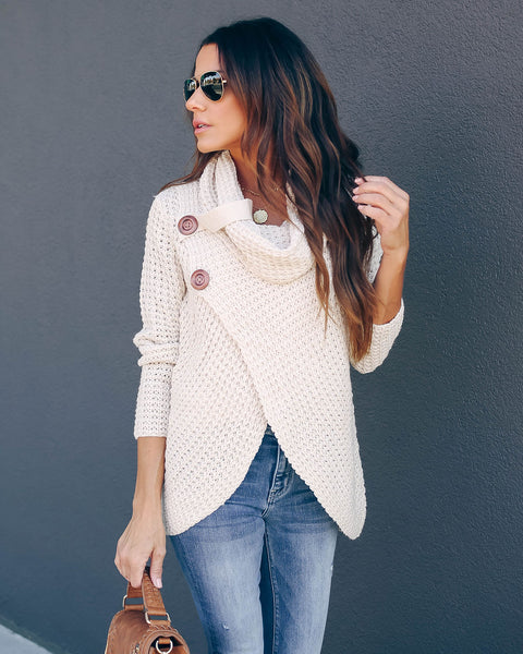 Made With Love Sweater - Beige