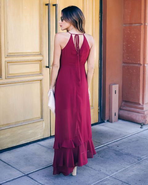 Honorable Mention Ruffle Tiered Maxi Dress - FINAL SALE