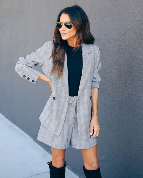 Johnson Pocketed Plaid Blazer - FINAL SALE