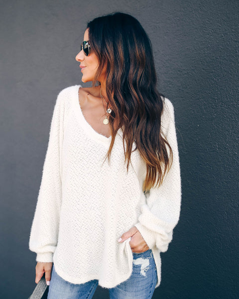 Chill Pill Relaxed Knit Top