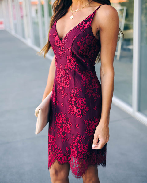 Alexia Lace Dress - FINAL SALE