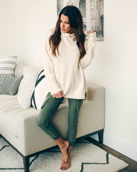 Jarrett Oversized Turtleneck Sweater  - FINAL SALE