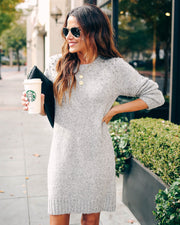 Bag Of Tricks Embellished Sweater Dress  - FINAL SALE