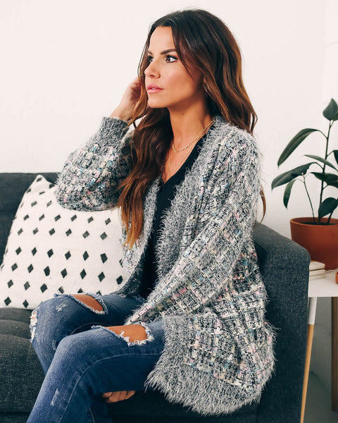 In Love And Laughter Chunky Knit Cardigan - FINAL SALE