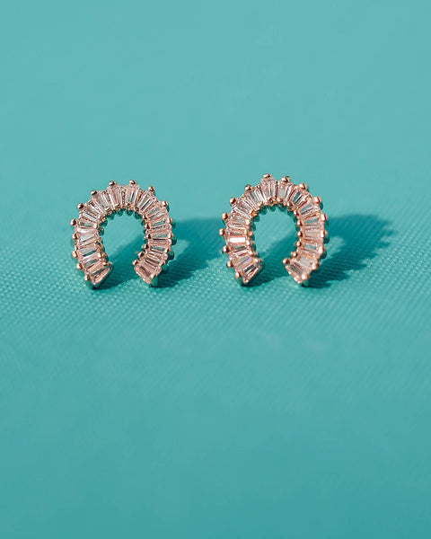 MARRIN COSTELLO - Embellished Horseshoe Studs