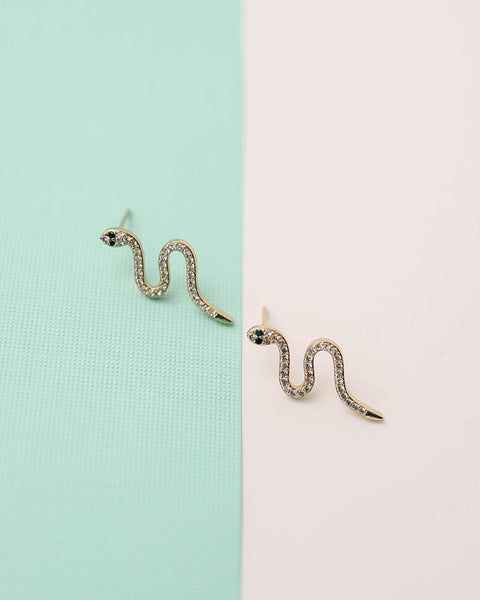 MARRIN COSTELLO - Serpent Embellished Studs