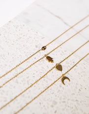 MARRIN COSTELLO - Good Luck Gold Layered Necklace