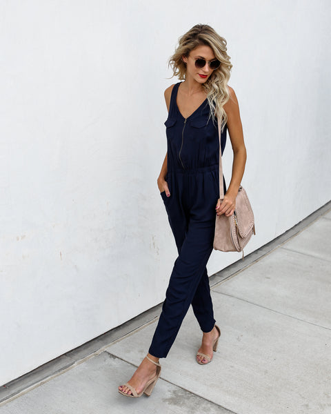 Therone Pocketed Jumpsuit