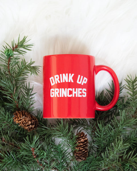 Drink Up Grinches Mug
