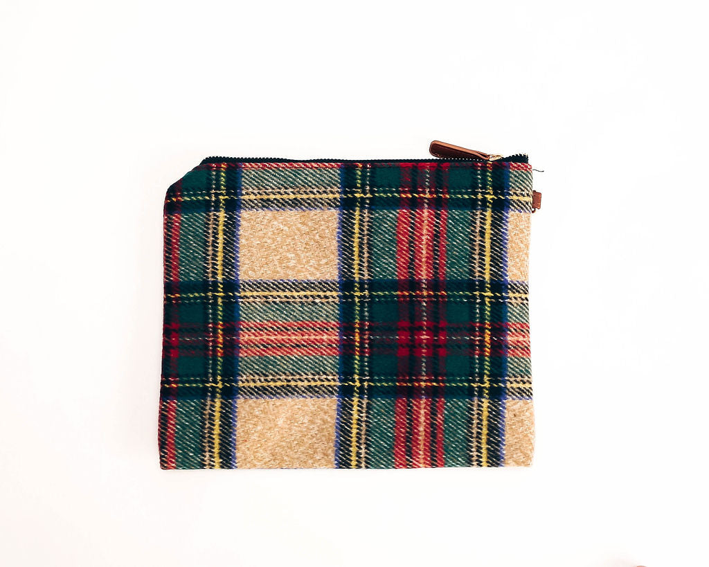 056c5ec835 Festive Woven Plaid Zip Clutch - FINAL SALE – VICI